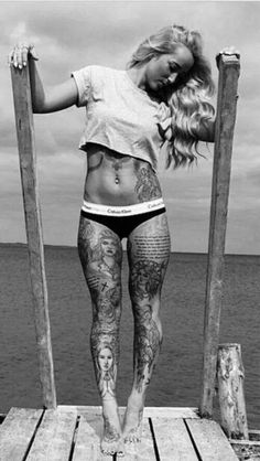 tattooed goddesses SABRINA MADSEN