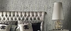 Lince Unito Wallpaper Panel with Crystals