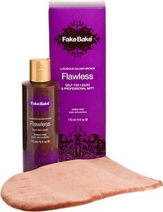 Fake Bake Flawless Self-Tanning Liquid & Professional Mitt