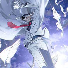 Magic Kaito: Kid The Phantom Thief Ran And Shinichi, Kudo Shinichi, Magic Kaito, Detective, Tsubaki Chou Lonely Planet, Kaito Kuroba, Kaito Kid, Detektif Conan, Fanart