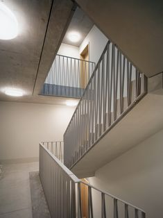 Staircase Railings, Staircases, Stairs, Iron Balcony, Balcony Railing, Chur, Dormitory, Apartment Interior, Entrance