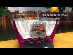 Démonstration du #barbecue #lotus sans fumée