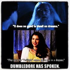 harry potter, twilight humor