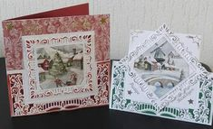 Marianne Design Cards, Christmas Cards, Christmas Ornaments, Frame, Vintage, Decor, Xmas Greeting Cards, Xmas Ornaments, Dekoration