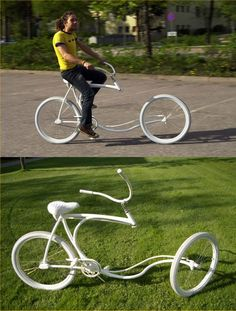 The best thing about this bike would be to see everyone else's reaction while you're riding it.