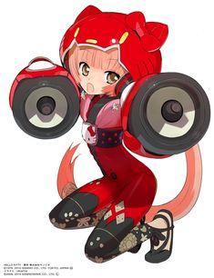 Nekomura Iroha - love love this one's voice, hate her outfit. Vocaloid, Kawaii Chibi, Kawaii Anime, Sanrio, Mikuo, Iroha, Fandom, Anime Nerd, Hello Kitty Wallpaper