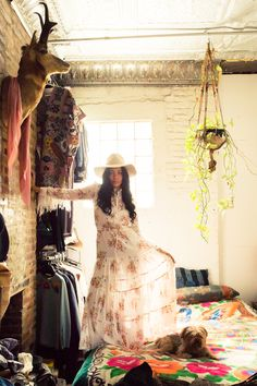 Brother Vellies Designer Aurora James' Closet