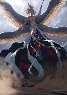 ArtStation - Goddess of Light, Axel Sauerwald
