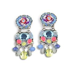 Ayala Bar Pixie-Dust Earrings, Hip, Spring 2015 - E7380  Price : $80.00 http://www.artazia.com/Ayala-Bar-Pixie-Dust-Earrings-Spring/dp/B00U6CVWC2