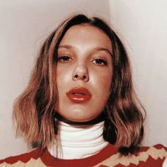 ❝Lovely❞┋ layouts and icons [Cerrado] Millie Bobby Brown, Brown Bob Hair, Bobby Brown Stranger Things, Look Star, Brown Aesthetic, Beautiful Person, Celebs, Celebrities, Best Actress