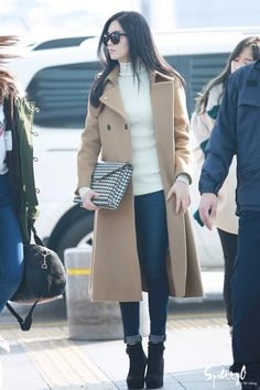 141121 seohyun's airport fashion