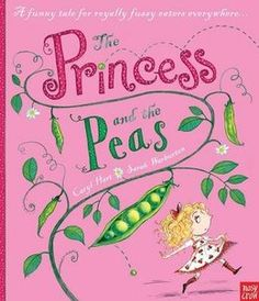 The Princess and the Peas by Caryl Hart illustrated by Sarah Warburton
