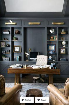 Office Interior Design, Home Office Decor, Office Interiors, Home Decor, Home Office Layouts, Office Furniture Design, Office Inspiration, Office Ideas, Superior Homes