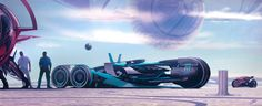 Giulio Partisani: Great Passion For Cars & Sci-Fi   motivezine