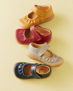 Livie & Luca Ruched Mary Janes, Sizes 04-11