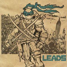 Leo leads.. #tmnt