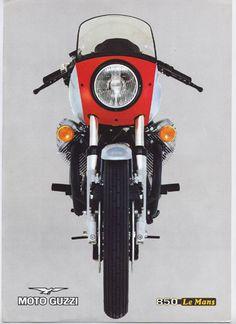 Manx Cat Motosport: MOTO GUZZI 850 LE MANS 1975