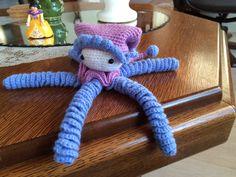 een octopusje voor in de wieg