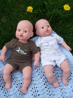 I love these dolls with clefts.  A cleft smile is a beautiful smile. :)