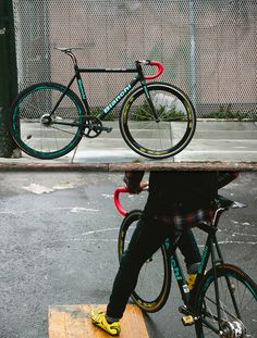 Bianchi…. For some HIIT sessions