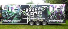 Rockin' Gamin' Parties is the premiere choice for birthday parties, Bar/Bat Mitzvahs, corporate team building events, fundraisers, tailgate parties, gaming tournaments, grand openings, family barbecues, and anything else you can dream up.