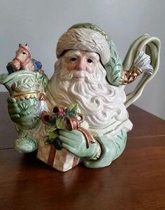 Fitz-Floyd-GREGORIAN-COLLECTION-Old-World-Santa-Teapot-3377179-Retail-70