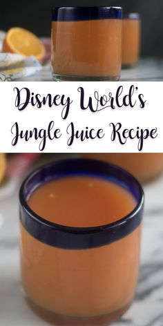 All throughout Disney World's Animal Kingdom Lodge, you will find a delicious fruit juice known as Jungle Juice. It's also known as POG Juice. Bring a little of the Disney magic into your kitchen by recreating Disney's Jungle Juice! Juice Recipes For Kids, Healthy Juice Recipes, Healthy Juices, Smoothie Recipes, Detox Juices, Juicer Recipes, Smoothie Cleanse, Cleanse Detox, Juice Cleanse