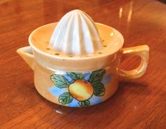 Vintage child toy dish juicer reamer by NX211 on Etsy, $45.00
