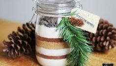 Walking in a Winterbloggerland   DIY Geschenk: Brownie im Glas + Verlosung