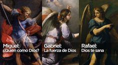Feliz día de los Santos Arcángeles a quienes llevan el nombre de Miguel, Rafael y Gabriel. Los encomendamos en nuestras oraciones. Además, conoce el significado de tu nombre.  Sigue las noticias de la #IglesiaCatólica en @aciprensa #SantoDelDía #Oración #Pray #Praying #Prayer