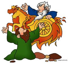 elijah and the fiery chariot clip art - Google Search