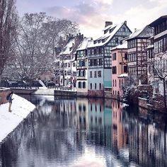 Strasbourg, France - beautiful city!