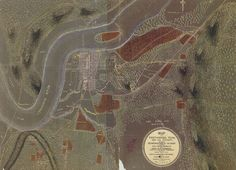 Map Of Chattanooga Tennessee and its Vicinity, Showing The Fortifications of the Enemy (1863)