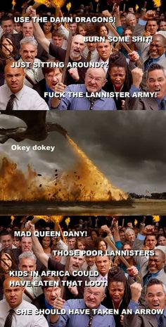 Feeling conflicted about Dany, Game of Thrones.