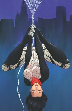 Silk from The Marvel Comic Universe. Anime Comics, Marvel Comics, Heros Comics, Marvel Comic Universe, Comics Universe, Marvel Heroes, Comic Book Characters, Marvel Characters, Comic Character
