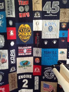 Tshirt / Memory Quilt Mosiac Quilt by SweetonStitchesEtsy on Etsy, $275.00