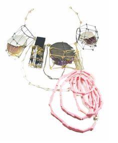 architectural statement necklace