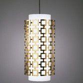 Found it at AllModern - Jonathan Adler Parker 1 Light Pendant