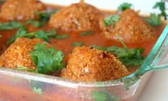 Baked Soybean Koftas.  Not only are they simple to make they're very healthy, immensely nutritious and totally yummy!  All the ingredients work in harmony and the gravy is so fast to make.