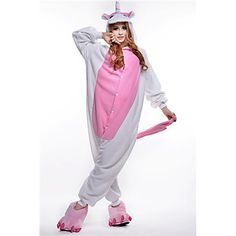 New cosplay costumes. Adorable Pink Unicorn Fleece  Kigurumi Pajamas for adults. Click on the picture to check it out