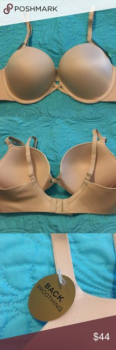 NWT Wacoal 38B nude push up bra no lines! New! The Cadillac of bras. NWT Wacoal 38B nude push up bra no lines! Super soft abs laser cut back Smoothing push up bra. Adjustable straps, double hook close. Retail $68 Wacoal Intimates & Sleepwear Bras