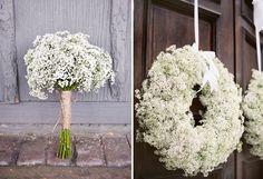 baby's breath wedding inspiration   round-up   babys breath details » Something Turquoise {daily bridal ...