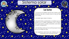 SISTEMA SOLAR (6) Space Classroom, Sun And Stars, Spanish Classroom, Solar System, Activities For Kids, Letters, Teaching, How To Plan, Education