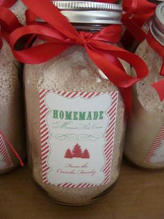 MASTER MIX of Mexican Hot Cocoa  10 2/3 cup non fat instant dried milk  1 6oz jar powdered non dairy creamer  2 cup powder sugar  1 16oz can instant chocolate drink mix (like nestle quick).  A great gift idea.    1/2 cup ground cinnamon       Add 3 Tbs of mix to 1 cup of hot water