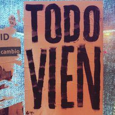 Poco a poco podremos cambiar la V por la B #todovien #todobien #elecciones2015 #madrid #ahoramadrid
