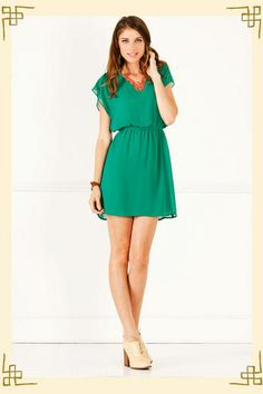 Miami Dress from Francesca's ... love this color!!!!