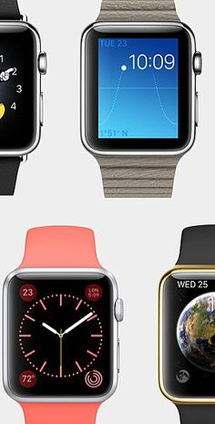 The Prettiest Pictures of the New Apple Watch