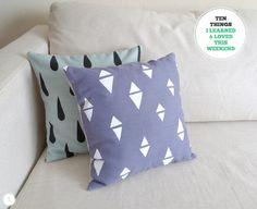 "Designer Cushion Covers Made in Laura Ashley Lyla œuf De Canard Floral 16/"" Oreillers"