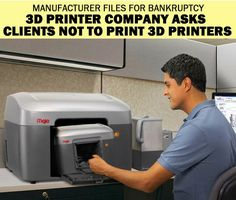 The problem with 3D printer manufacturers. <<< wowwwww I don't think this is possible anyways.... ummmmm