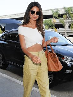 Lily Aldridge's soft, supermodel waves